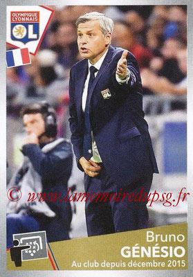 2017-18 - Panini Ligue 1 Stickers - N° 204 - Bruno GENESIO (Entraîneur Lyon)