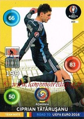 Panini Road to Euro 2016 Cards - N° 163 - Ciprian TATARUSANU (Roumanie)