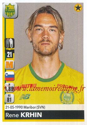 2018-19 - Panini Ligue 1 Stickers - N° 288 - Rene KRHIN (Nantes)