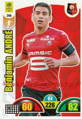 2018-19 - Panini Adrenalyn XL Ligue 1 - N° 296 - Benjamin ANDRE (Rennes)
