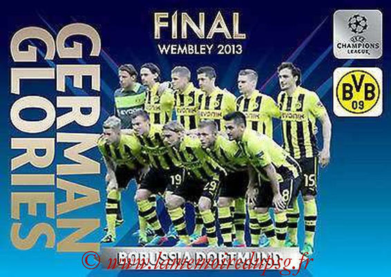 2013-14 - Adrenalyn XL champions League N° GG2 - Borussia Dortmund (Final Wembley 2013) (German Glories)