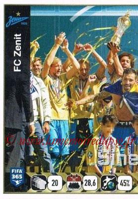 2015-16 - Panini FIFA 365 Stickers - N° 747 - Equipe FC Zenit 1