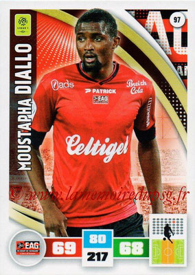 2016-17 - Panini Adrenalyn XL Ligue 1 - N° 097 - Moustapha DIALLO (Guingamp)