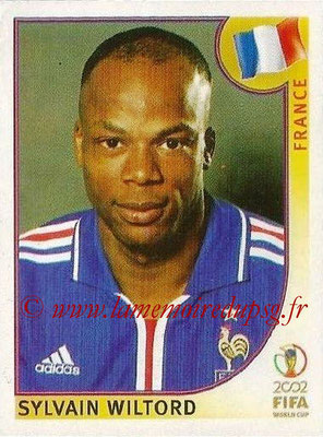 2002 - Panini FIFA World Cup Stickers - N° 042 - Sylvain WILTORD (France)