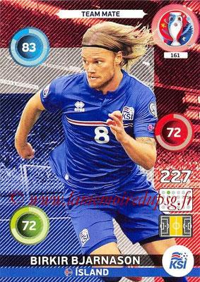 Panini Euro 2016 Cards - N° 161 - Birkir BJARNASON (Islande)