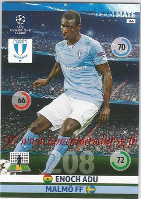 2014-15 - Adrenalyn XL champions League N° 166 - Enoch ADU (Malmö FF)