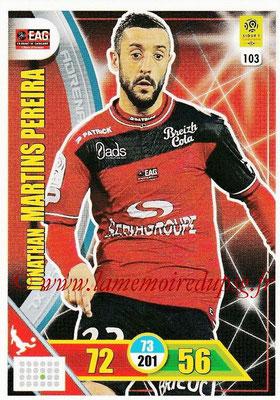 2017-18 - Panini Adrenalyn XL Ligue 1 - N° 103 - Jonathan MARTINS PEREIRA (Guingamp)