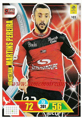 2017-18 - Panini Adrenalyn XL Ligue 1 - N° 103 - Jonathan MARTINS PEREIRA (Guingamp)