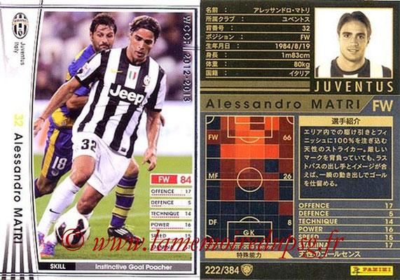 2012-13 - WCCF - N° 222 - Alessandro MATRI (Juventus FC)