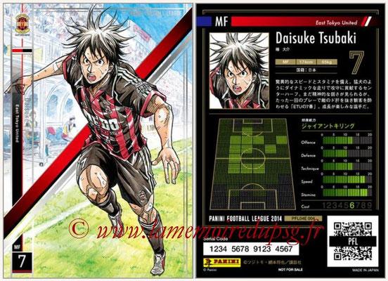 Panini Football League 2014 - PFL04E - N° 004 - Daisuke Tsubaki (East Tokyo United)