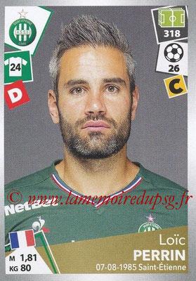 2017-18 - Panini Ligue 1 Stickers - N° 420 - Loïc PERRIN (Saint-Etienne)