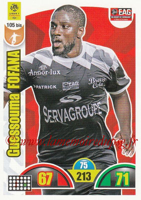 2018-19 - Panini Adrenalyn XL Ligue 1 - N° 105 bis - Guessouma FOFANA (Guingamp)