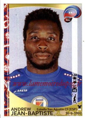 Panini Copa America Centenario USA 2016 Stickers - N° 170 - Andrew JEAN-BAPTISTE (Haiti)