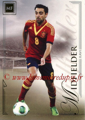 2014 - Futera World Football Unique - N° 063 - XAVI (Midfielder)