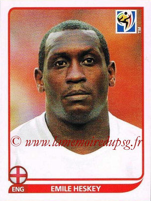 2010 - Panini FIFA World Cup South Africa Stickers - N° 197 - Emile HESKEY (Angleterre)