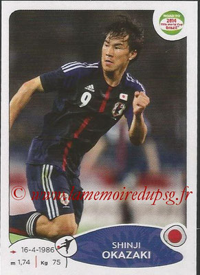 2014 - Panini Road to FIFA World Cup Brazil Stickers - N° 410 - Shinji OKAZAKI (Japon)