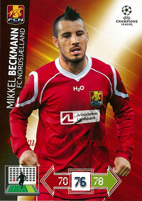 2012-13 - Adrenalyn XL champions League N° 181 - Mikkel BECKMANN (FC Nordsjaelland)
