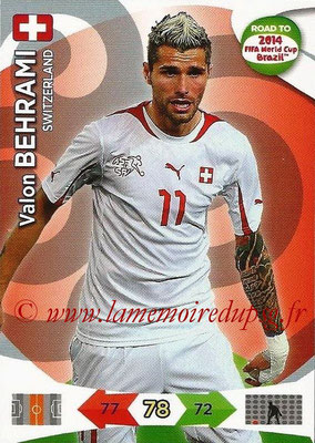 2014 - Panini Road to FIFA World Cup Brazil Adrenalyn XL - N° 177 - Valon BEHRAMI (Suisse)