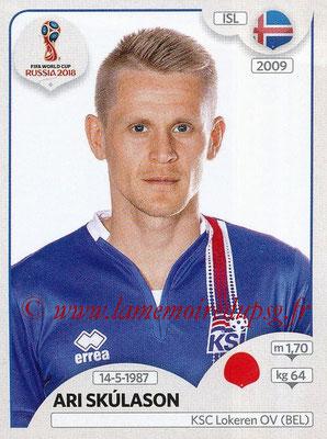 2018 - Panini FIFA World Cup Russia Stickers - N° 298 - Ari SKULASON (Islande)