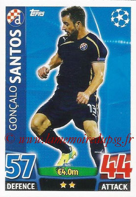 2015-16 - Topps UEFA Champions League Match Attax - N° 421 - Goncalo SANTOS (GNK Dinamo Zagreb)