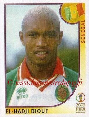 2002 - Panini FIFA World Cup Stickers - N° 059 - El-Hadji DIOUF (Sénégal)