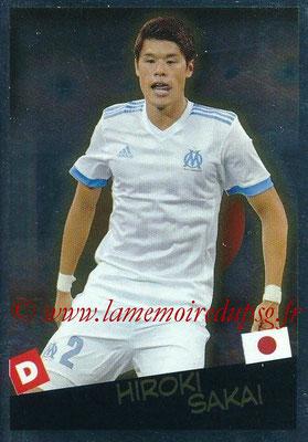2017-18 - Panini Ligue 1 Stickers - N° 540 - Hiroki SAKAI (Marseille + Japon) (Planète Ligue 1)