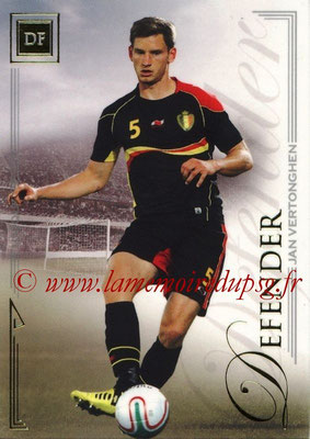 2014 - Futera World Football Unique - N° 032 - Jan VERTONGHEN (Defender)