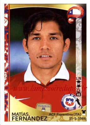 Panini Copa America Centenario USA 2016 Stickers - N° 342 - Matias FERNANDEZ (Chili)