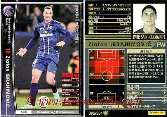 2012-13 - WCCF - N° 095 - Zlatan IBRAHIMOVIC (Paris Saint-Germain)