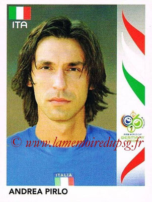 2006 - Panini FIFA World Cup Germany Stickers - N° 333 - Andrea PIRLO (Italie)