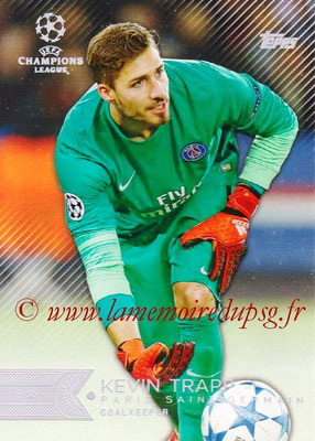 2015-16 - Topps UEFA Champions League Showcase Soccer - N° 003 - Kevin TRAPP (Paris Saint-Germain)