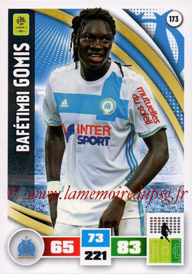 2016-17 - Panini Adrenalyn XL Ligue 1 - N° 173 - Bafétimbi GOMIS (Marseille)