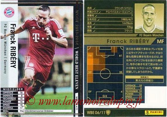 2013-14 - WCCF - N° WBE06 - Franck RIBERY (FC Bayern Munich) (World Best Eleven)