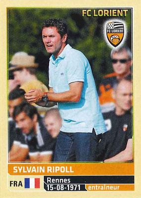 2014-15 - Panini Ligue 1 Stickers - N° 172 - Sylvain RIPOLL (FC Lorient) (Entraîneur)