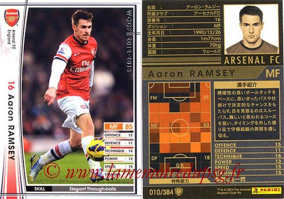 2012-13 - WCCF - N° 010 - Aaron RAMSEY (Arsenal FC)