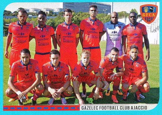 2016-17 - Panini Ligue 1 Stickers - N° 848 - Equipe Gazelec Ajaccio