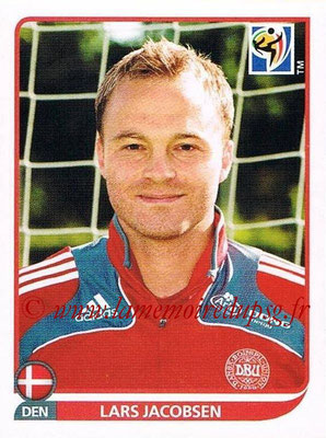 2010 - Panini FIFA World Cup South Africa Stickers - N° 357 - Lars JACOBSEN (Danemark)