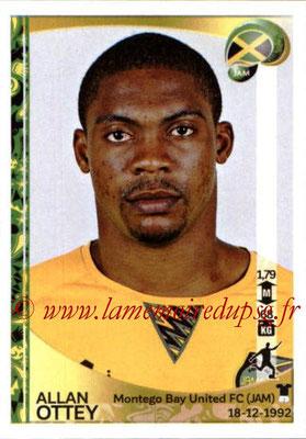 Panini Copa America Centenario USA 2016 Stickers - N° 272 - Allan OTTEY (Jamaïque)