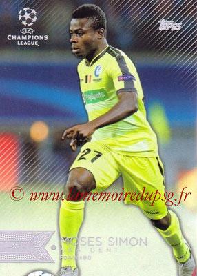 2015-16 - Topps UEFA Champions League Showcase Soccer - N° 193 - Moses SIMON (KAA Gent)