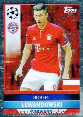 2016-17 - Topps UEFA Champions League Stickers - N° BMU 3 - Robert LEWANDOWSKI (FC Bayern Munich)