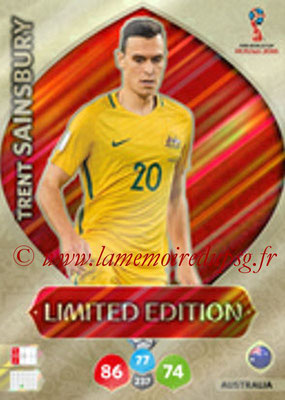 2018 - Panini FIFA World Cup Russia Adrenalyn XL - N° LE-TS - Trent SAINSBURY (Australie) (Limited Edition)