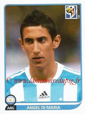 2010 - Panini FIFA World Cup South Africa Stickers - N° 119 - Angel DI MARIA (Argentine)