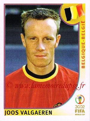 2002 - Panini FIFA World Cup Stickers - N° 555 - Joos VALGAEREN (Belgique)