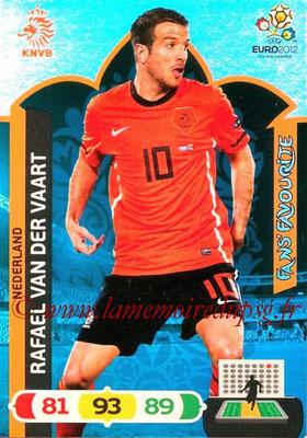 Panini Euro 2012 Cards Adrenalyn XL - N° 261 - Rafael VAN DER VAART (Pays-Bas) (Fans' Favourite)