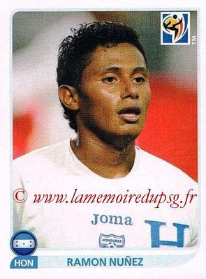2010 - Panini FIFA World Cup South Africa Stickers - N° 611 - Ramon NUNEZ (Honduras)