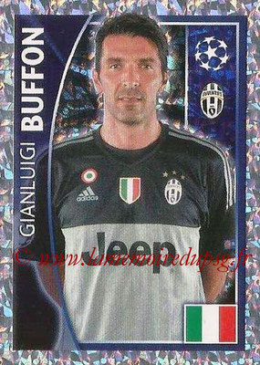 2015-16 - Topps UEFA Champions League Stickers - N° 234 - Gianluigi BUFFON (Juventus FC)
