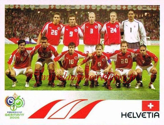 2006 - Panini FIFA World Cup Germany Stickers - N° 473 - Équipe Suisse