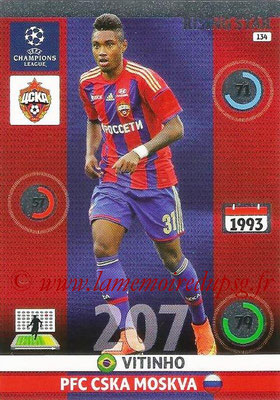 2014-15 - Adrenalyn XL champions League N° 134 - VITINHO (PFC CSKA Moscou) (Rising star)