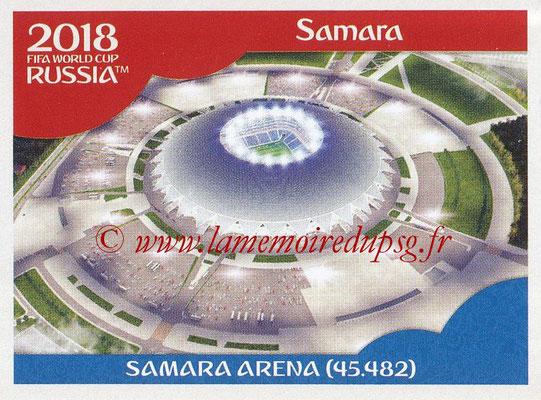 2018 - Panini FIFA World Cup Russia Stickers - N° 016 - Samara Arena, Samara (Stades et Villes)