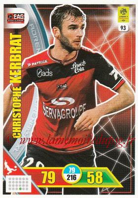 2017-18 - Panini Adrenalyn XL Ligue 1 - N° 093 - Christophe KERBRAT (Guingamp)